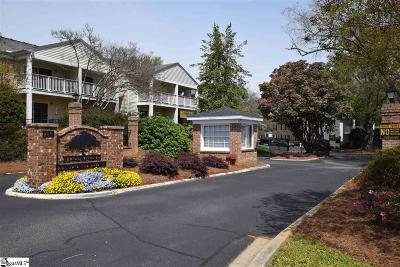Greenville Condo/Townhouse For Sale: 925 Cleveland #Unit: 87