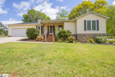 Anderson Single Family Home For Sale: 500 Sussex