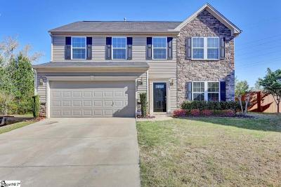 Greenville County Single Family Home For Sale: 108 Blue Slate