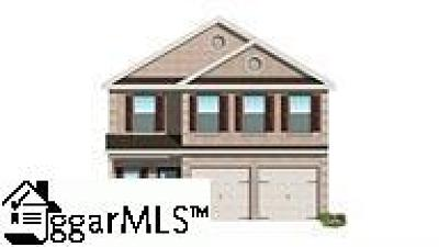 Greenville SC Single Family Home For Sale: $264,540