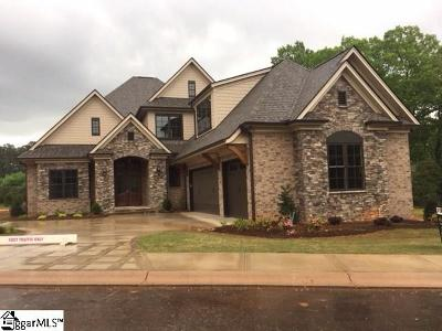 Simpsonville Single Family Home For Sale: 105 Chestnut Pond