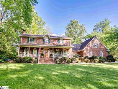Spartanburg Single Family Home Contingency Contract: 415 Woodgrove Trace