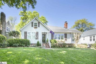 Greenville Single Family Home For Sale: 19 Woodvale