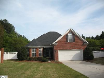 Greenville Single Family Home For Sale: 411 Ashby Park