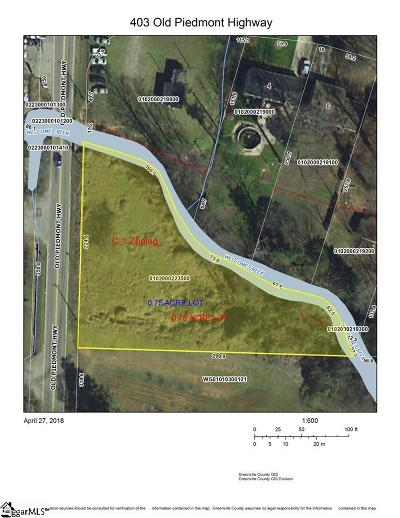 Greenville Residential Lots & Land For Sale: 403 Old Piedmont