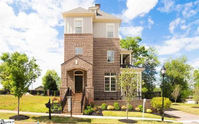Greenville Single Family Home For Sale: 6 Augusta Walk