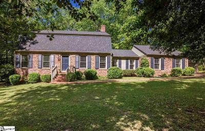 Spartanburg Single Family Home Contingency Contract: 492 Mockingbird