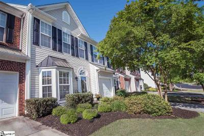 Mauldin Condo/Townhouse For Sale: 1324 Alexandrite