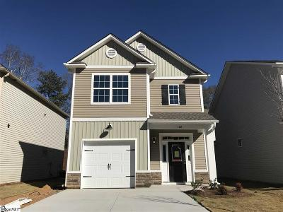 Simpsonville Single Family Home For Sale: Wheaton #Lot 18