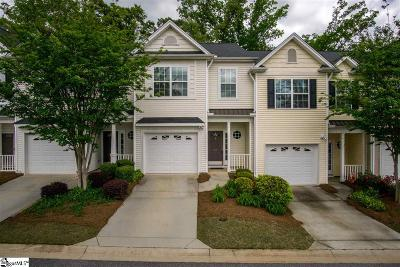 Simpsonville Condo/Townhouse For Sale: 18 Bay Springs