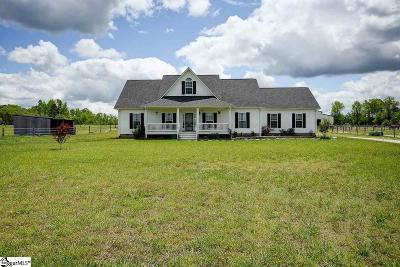 Laurens Single Family Home Contingency Contract: 1105 Indian Mound