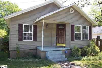 Easley SC Single Family Home For Sale: $65,000
