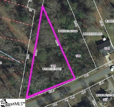 Greenville Residential Lots & Land For Sale: 118 Deborah