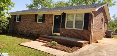 Piedmont Single Family Home Contingency Contract: 111 Helen