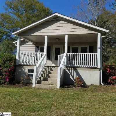 Easley Single Family Home For Sale: 534 Gentry Memorial
