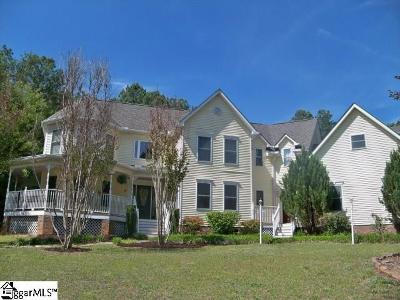 Greer Single Family Home For Sale: 2 Cherry Field