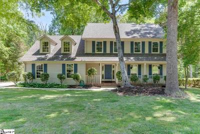 Simpsonville Single Family Home For Sale: 208 Squires Creek