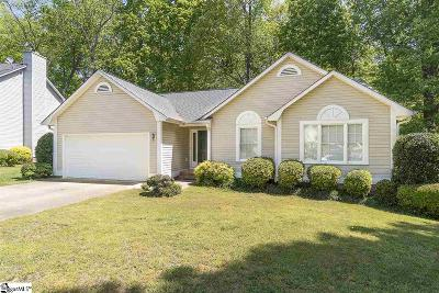 Mauldin Single Family Home Contingency Contract: 25 Poplar Springs