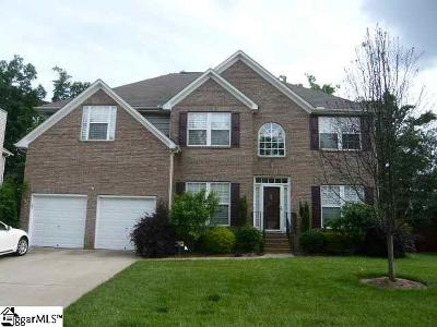 Simpsonville Single Family Home For Sale: 8 Redglobe