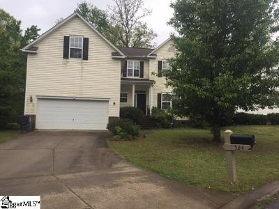 Simpsonville Rental For Rent: 524 S Orchard Farms