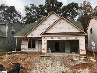 Taylors Single Family Home For Sale: 116 Creekland #Lot 13