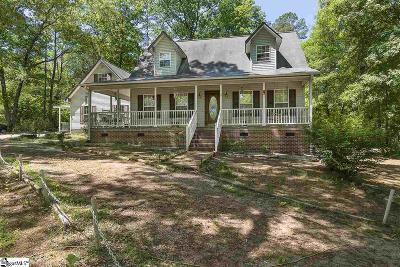Fountain Inn Single Family Home For Sale: 906 Hillside Church