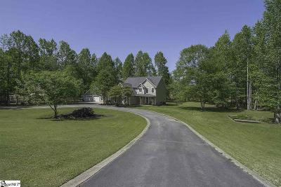 Greer Single Family Home For Sale: 547 Forest