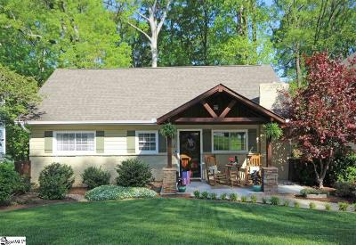 Greenville Single Family Home Contingency Contract: 220 Cammer
