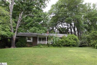 Greenville Single Family Home Contingency Contract: 106 Oakview