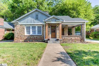 Greenville County Single Family Home For Sale: 11 E Blue Ridge
