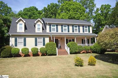 Simpsonville Single Family Home For Sale: 113 Emerald