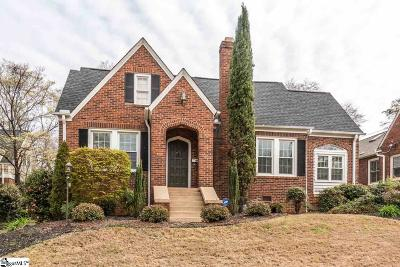 Greenville County Single Family Home Contingency Contract: 217 Cleveland
