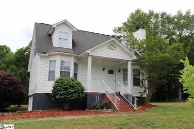 Inman Single Family Home For Sale: 251 Abernathy
