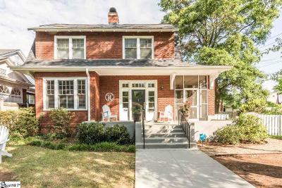 Spartanburg Single Family Home For Sale: 736 Maple