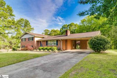 Taylors Single Family Home For Sale: 404 Dellrose