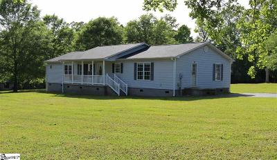 Spartanburg Single Family Home Contingency Contract: 230 Oak Valley