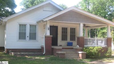 Pelzer Single Family Home For Sale: 16 Dendy