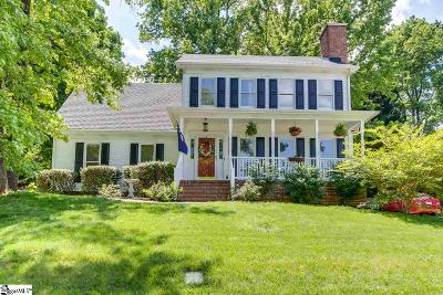 Greenville Single Family Home Contingency Contract: 106 Cold Branch