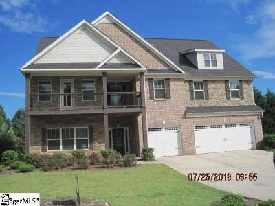 Greenville County Single Family Home For Sale: 15 Abington Hall