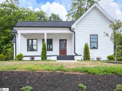 Greenville Single Family Home For Sale: 315 Anderson