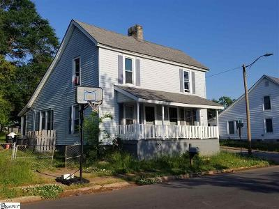 Anderson Single Family Home Contingency Contract: 327 E