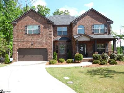 Simpsonville Single Family Home For Sale: 224 Dante