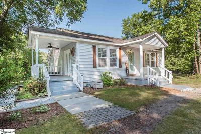 Piedmont Single Family Home Contingency Contract: 409 Osteen