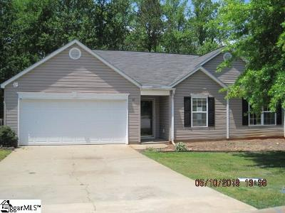 Greenville SC Single Family Home For Sale: $125,900