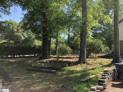 Greenville Residential Lots & Land For Sale: Pine Forest Drive