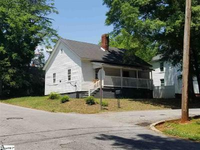 Greenville Single Family Home Contingency Contract: 1 N Vance