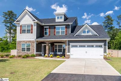 Simpsonville Single Family Home For Sale: 607 Briar Thistle