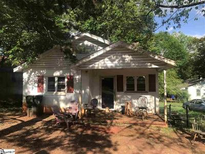 Greenville Single Family Home For Sale: 7 Bridwell