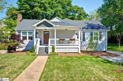Greenville Single Family Home Contingency Contract: 20 Blair