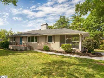Greenville Single Family Home For Sale: 112 W Circle
